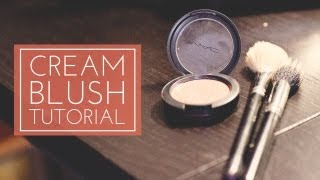 Don't let cream blush intimate you. I'll show you the master the technique and the proper brushes to use with this product. -----------------------------------------------------------CONNECT WITH ME-----------------------------------------------------------facebook: http://www.facebook.com/Always-Blushingblog: http://www.alwaysblushing.com/