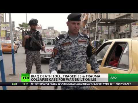 'United States of Amnesia': Iraq death toll mounts 10 years on