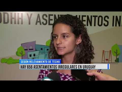 Hay 656 asentamientos irregulares en Uruguay.
