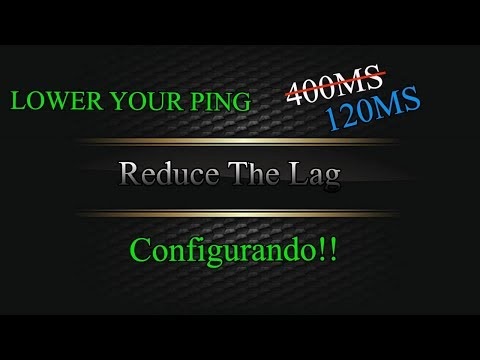 Configurando o Reduce The Lag 2018 - How To Lower Ping and Reduce