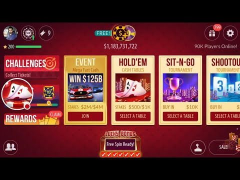 GAMEPLAY! $1B CHIPS to $2.1B CHIPS, GOOD HANDS WON! 720P – Texas Holdem Stream #30