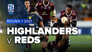 Highlanders v Reds Rd.1 2021 Super rugby Trans Tasman video highlights | Super Rugby Video