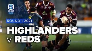 Highlanders v Reds Rd.1 2021 Super rugby Trans Tasman video highlights | Super Rugby Video