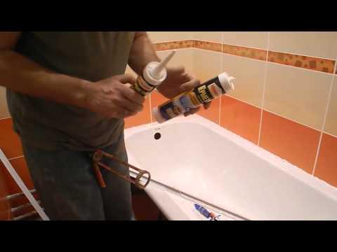 Укладка бордюрной плитки в ванной своими руками