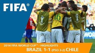 Video BRAZIL v CHILE (1:1 PSO 3:2) - 2014 FIFA World Cup™ MP3, 3GP, MP4, WEBM, AVI, FLV Juli 2018