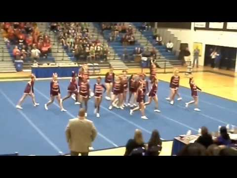 Mountain View-Stafford County Cheer  2013