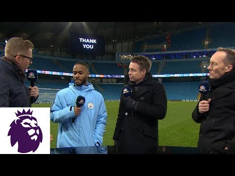 Video: Raheem Sterling talks Man City's dominant win | Premier League | NBC Sports