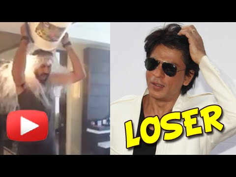 Must - Share on Facebook : http://goo.gl/uoQUK4 Tweet now : http://goo.gl/DSVUbs Abhishek Bachchan might not be the hero of Happy New Year. But Shahrukh Khan has lost to him in ALS Ice Bucket Challenge....