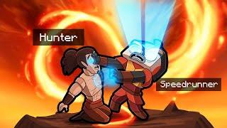 Manhunt AVATAR Firebender! (Speedrunner vs Hunter)