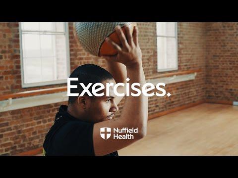 Medicine Ball Halo | Nuffield Health