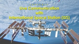 Live Communication With ISS - 2014