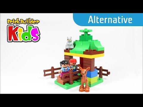 Vidéo LEGO Duplo 10582 : Les animaux de la forêt