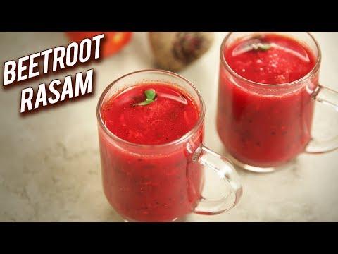 Beetroot Rasam | Healthy & Tasty Rasam Recipe | South Indian Style Rasam | Beetroot Charu | Ruchi