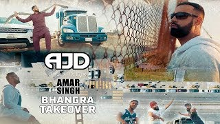Download Lagu BHANGRA TAKEOVER - OFFICIAL VIDEO - AJD FT. AMAR SINGH (2018) Mp3
