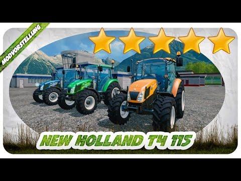 New Holland 115 T4 v1.1