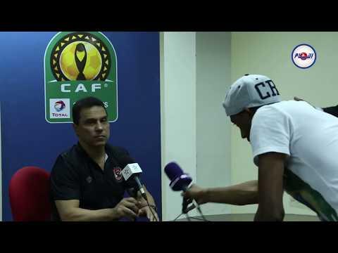 «الكاف» يُعاقب مدرب الأهلي المصري بسبب «بي إن سبورتس»