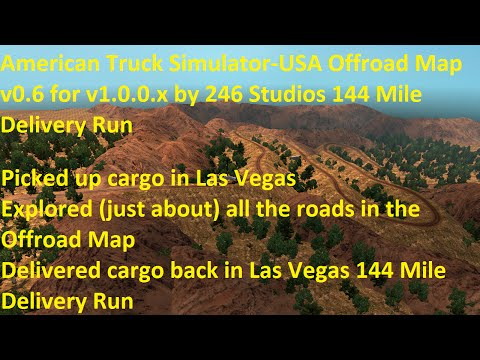 USA Offroad Map v0.6 for v1.0.0.x by 246 Studios