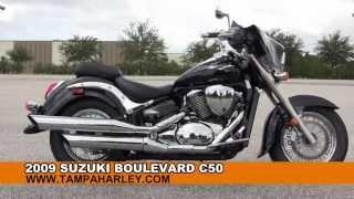 8. Used 2009 Suzuki Boulevard C50 Motorcycle for sale