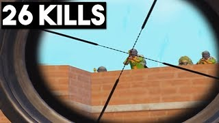 HOW DID I WIN THIS MATCH??? | 26 KILLS SOLO vs SQUADS | PUBG Mobile 🐼