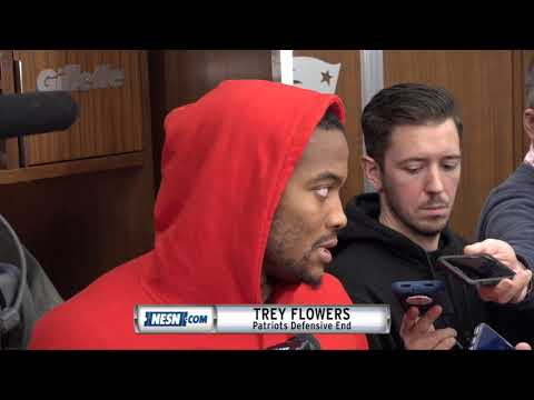 Video: Trey Flowers on upcoming Bye Week after Patriots loss