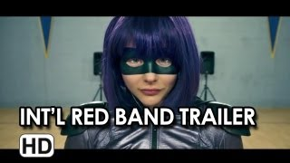Kick-Ass 2 International Red Band Trailer - Chloe Moretz Movie HD