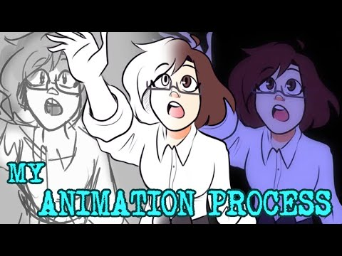 TRYING TO MAKE A COOL ANIMATION WITH SONY VEGAS AND PAINT TOOL SAI + animation process