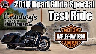 4. 2018 Harley-Davidson Road Glide Special Test Ride