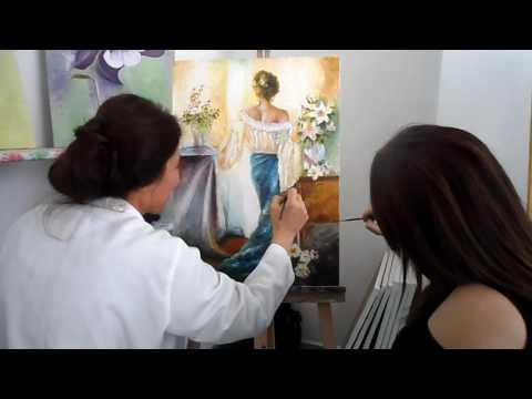 355 MERYEM KIZILYER PIRLAK RESİM KURSU TÜRKİYE ADANA