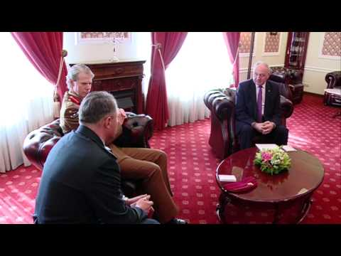 Президент Николае Тимофти встретился с заместителем главнокомандующего объединенными силами НАТО в Европе Эдрианом Брэдшоу