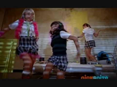 The School Gyrls OFFICAL MUSIC VIDEO ~ Just A Kiss (mandy rain kissing justin bieber's poster)