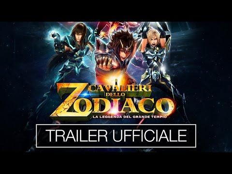 i cavalieri dello zodiaco - la leggenda del tempio trailer