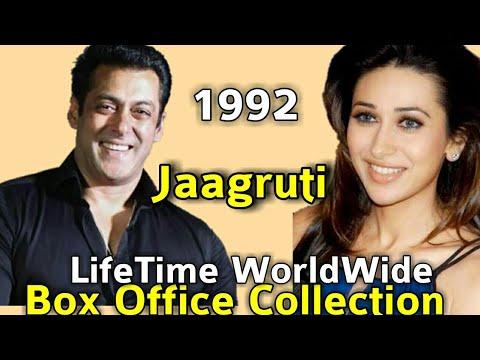 Salman Khan JAAGRUTI 1992 Bollywood Movie LifeTime WorldWide Box Office Collection Rating