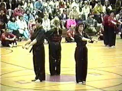 LaVallee's Karate - Black Belt Exam - May 18th, 1990 Part 2