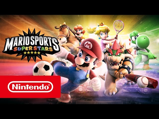 Mario Sports Superstars – Tráiler de lanzamiento (Nintendo 3DS)