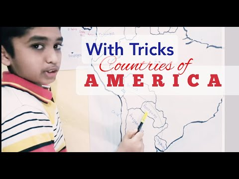 Countries of South America and North America Easy Way to Learn: Learn with Amar