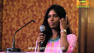 Costume Designer Vasuki Bhaskar at Raja vin Sangeetha Thirunaal Press Meet