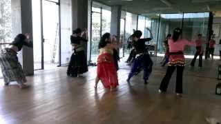 蔣老師-肚皮舞教學4
