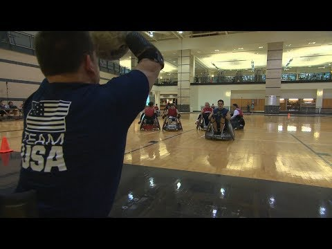 UH Study Finds Wheelchair Rugby Lowers Depression