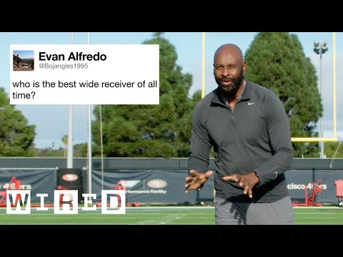 Jerry Rice Answers Football Questions From