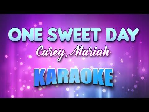 Video Carey, Mariah - One Sweet Day (Karaoke & Lyrics) download in MP3, 3GP, MP4, WEBM, AVI, FLV January 2017