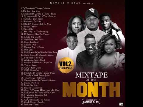 Novice2STAR Presents Mixtape Of The Month Vol 2 Hosted by DJ Ayi