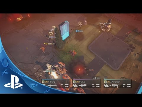HELLDIVERS Gameplay Trailer | PS4, PS3, PS Vita