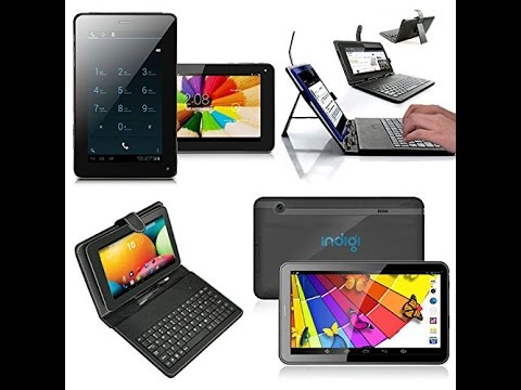 UNBOXING  of indigi 7in A13 ALLWINNER GSM UNLOCKED  Phablet Tablet PC w/ Free Keyboard Case