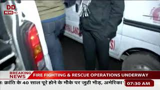 Fire breaks out at Arpit Palace hotel in Karol Bagh, Delhi