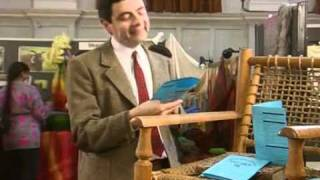 Mr Bean - Back to school, Mr  Bean 1994 clip1