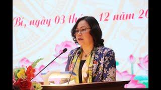 Đại biểu Quốc hội Ngô Thị Minh tiếp xúc cử tri TP Uông Bí