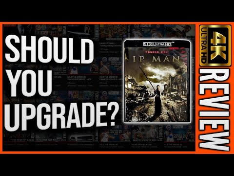 Ip Man 2008 4k Ultra HD Disc Review