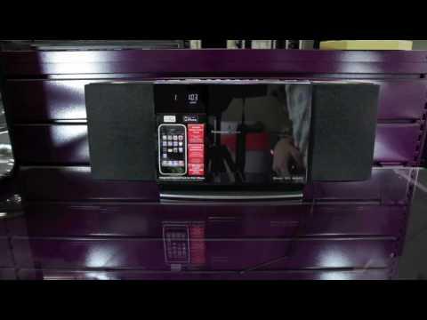 Panasonic SC-HC40 - Chaîne CD, Bluetooth, iPod & iPhone ultra-slim