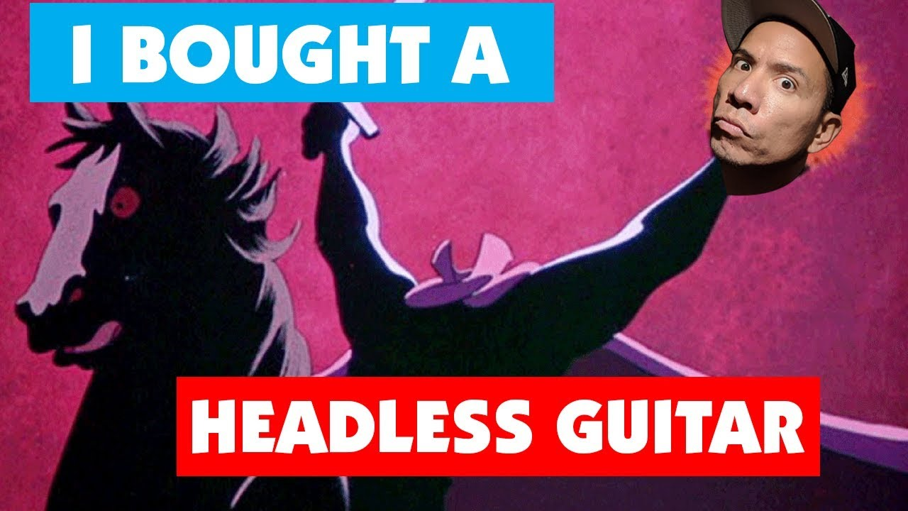 I Bought A HEADLESS GUITAR! – Unboxing and Demo