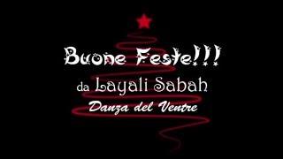 Danza del ventre online - Buone Feste da Layali Sabah!!! Sequenza per principianti!!!
